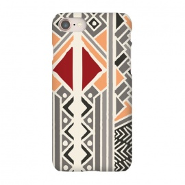 iPhone 8/7  Tribal ethnic geometric pattern 034 by Jelena Obradovic