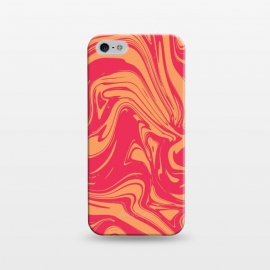 iPhone 5/5E/5s  Liquid marble texture design 031 by Jelena Obradovic