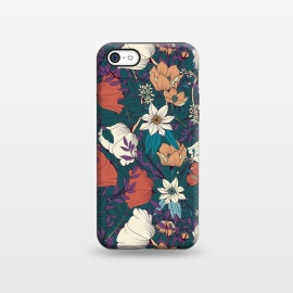 iPhone 5C  Botanical pattern 008 by Jelena Obradovic