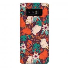 Galaxy Note 8  Botanical pattern 010 by