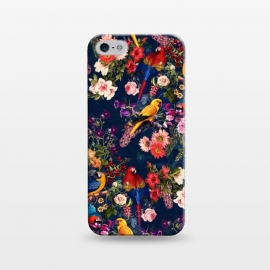 iPhone 5/5E/5s  FLORAL AND BIRDS XII by