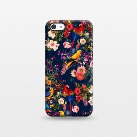 iPhone 5C  FLORAL AND BIRDS XII by Burcu Korkmazyurek