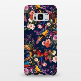 Galaxy S8+  FLORAL AND BIRDS XII by Burcu Korkmazyurek