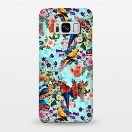 Galaxy S8+  Floral and Birds XI by Burcu Korkmazyurek