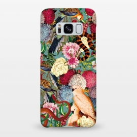 Galaxy S8+  Floral and Animals pattern by Burcu Korkmazyurek