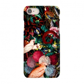 iPhone 8/7  Floral and Animals pattern II by Burcu Korkmazyurek