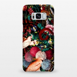 Galaxy S8+  Floral and Animals pattern II by Burcu Korkmazyurek