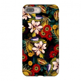 iPhone 8/7 plus  Japanese Floral Pattern by Burcu Korkmazyurek