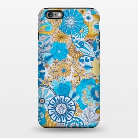 iPhone 6/6s plus  Seventies Psychedelic Blooms by Paula Ohreen