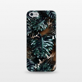 iPhone 5/5E/5s  TROPICAL GARDEN X by Burcu Korkmazyurek