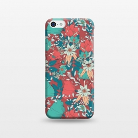 iPhone 5C  Botanical Pattern 014 by Jelena Obradovic
