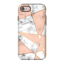 iPhone 8/7  Marble Geometry 050 by Jelena Obradovic
