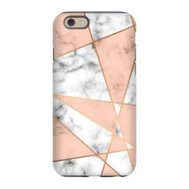 iPhone 6/6s  Marble Geometry 050 by Jelena Obradovic