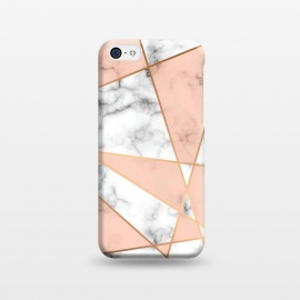 iPhone 5C  Marble Geometry 050 by Jelena Obradovic