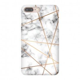 iPhone 8/7 plus  Marble Geometry 051 by Jelena Obradovic