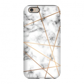 iPhone 6/6s  Marble Geometry 051 by Jelena Obradovic