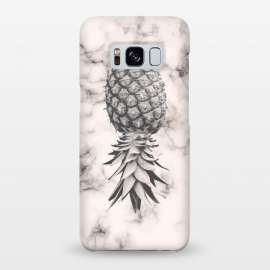 Galaxy S8+  Marble Texture Seamless Pattern Pineapple 052 by Jelena Obradovic