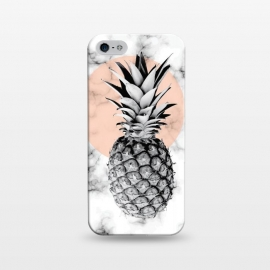 iPhone 5/5E/5s  Marble Pineapple 053 by Jelena Obradovic