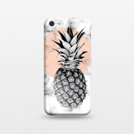 iPhone 5C  Marble Pineapple 053 by Jelena Obradovic