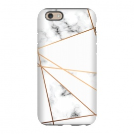 iPhone 6/6s  Marble Geometry 054 by Jelena Obradovic