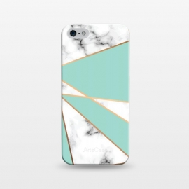 iPhone 5/5E/5s  Marble Geometry 055 by Jelena Obradovic