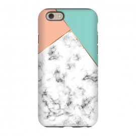 iPhone 6/6s  Marble Geometry 056 by Jelena Obradovic
