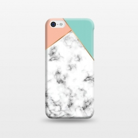 iPhone 5C  Marble Geometry 056 by Jelena Obradovic