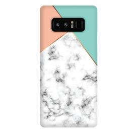 Galaxy Note 8  Marble Geometry 056 by