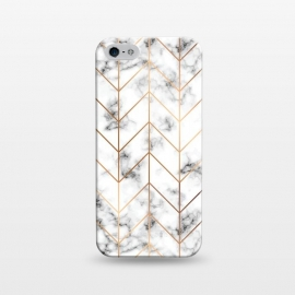 iPhone 5/5E/5s  Marble Geometry 057 by Jelena Obradovic