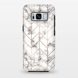 Galaxy S8+  Marble Geometry 057 by Jelena Obradovic (marble, marbling, texture, vector, black and white, gray, monochrome, surface, luxurious, elegant, background, stone, natural, pattern, seamless, repeat, abstract, creative, decoration, effect, backdrop, graphic, modern, contemporary, shapes, organic, waves, splatter, branding, surface design, white)
