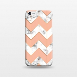 iPhone 5C  Marble Geometry 058 by Jelena Obradovic