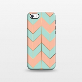 iPhone 5C  Marble Geometry 059 by Jelena Obradovic