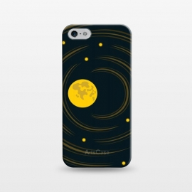 iPhone 5/5E/5s  Geek Abstract Stars And Moon by