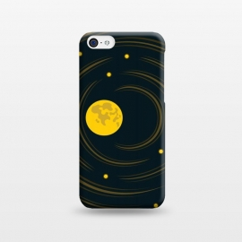 iPhone 5C  Geek Abstract Stars And Moon by Boriana Giormova