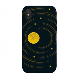 iPhone Xs / X  Geek Abstract Stars And Moon by