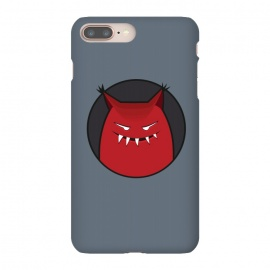 iPhone 8/7 plus  Red Evil Monster With Pointy Ears by Boriana Giormova