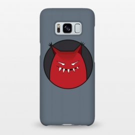 Galaxy S8+  Red Evil Monster With Pointy Ears by Boriana Giormova