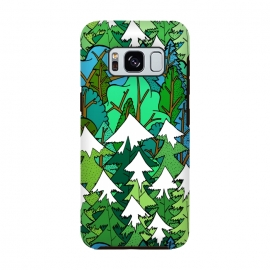Galaxy S8  Winter's Forest by Steve Wade (Swade)