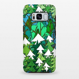 Galaxy S8+  Winter's Forest by Steve Wade (Swade)