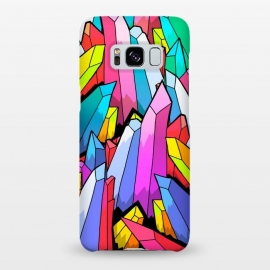 Galaxy S8+  Colour Crystals  by Steve Wade (Swade)