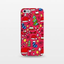 iPhone 5/5E/5s  The Christmas Pattern by Steve Wade (Swade)