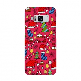 Galaxy S8  The Christmas Pattern by Steve Wade (Swade)