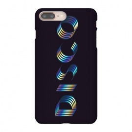 iPhone 8/7 plus  DISCO by  (graphic, typography, dark, simple, disco, party, night out, fun, font, colorful, college life, dance)