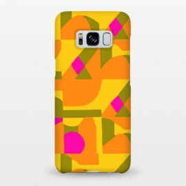 Galaxy S8+  Geo Orange by Bettie * Blue
