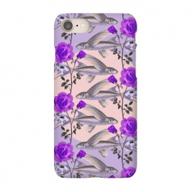 iPhone 8/7  Floral Fishies (Purple) by Zala Farah
