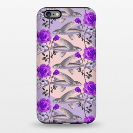 iPhone 6/6s plus  Floral Fishies (Purple) by Zala Farah