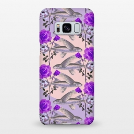 Galaxy S8+  Floral Fishies (Purple) by Zala Farah