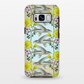 Galaxy S8 plus  Floral Fishies by
