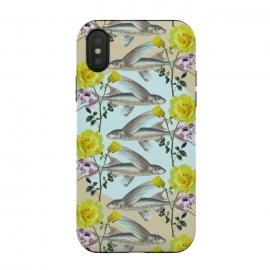 iPhone X  Floral Fishies by Zala Farah