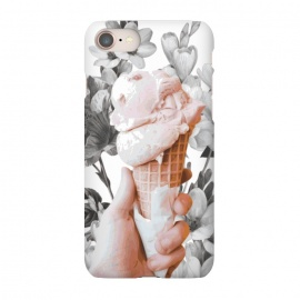 iPhone 8/7  Floral Ice-Cream by Zala Farah